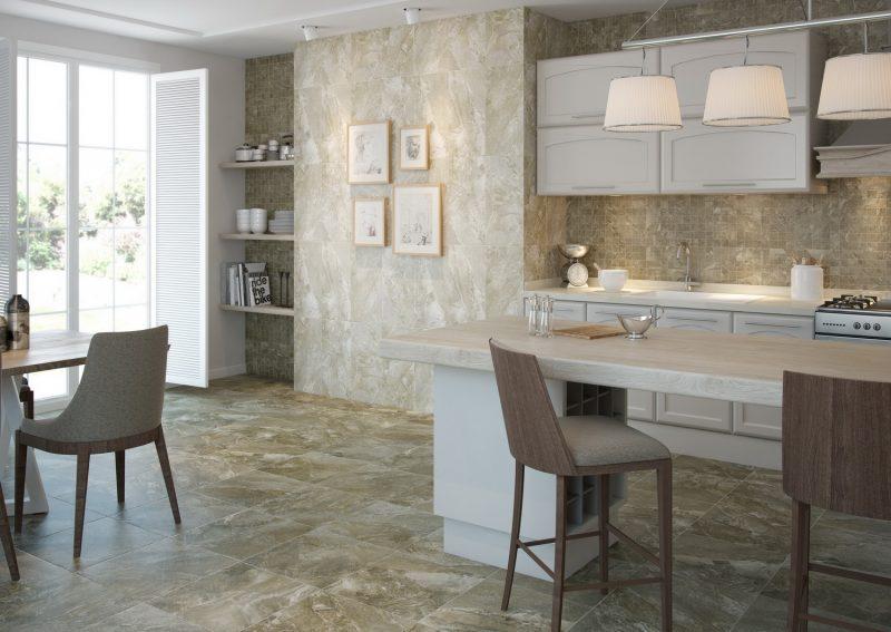Ambientes 3D ceramicos Cocinas