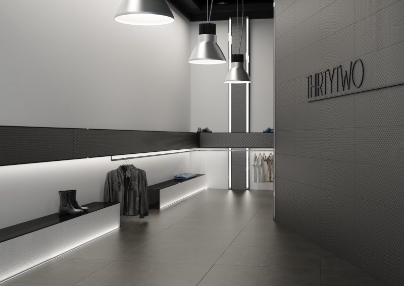 Ambientes 3D ceramicos Tienda Ropa