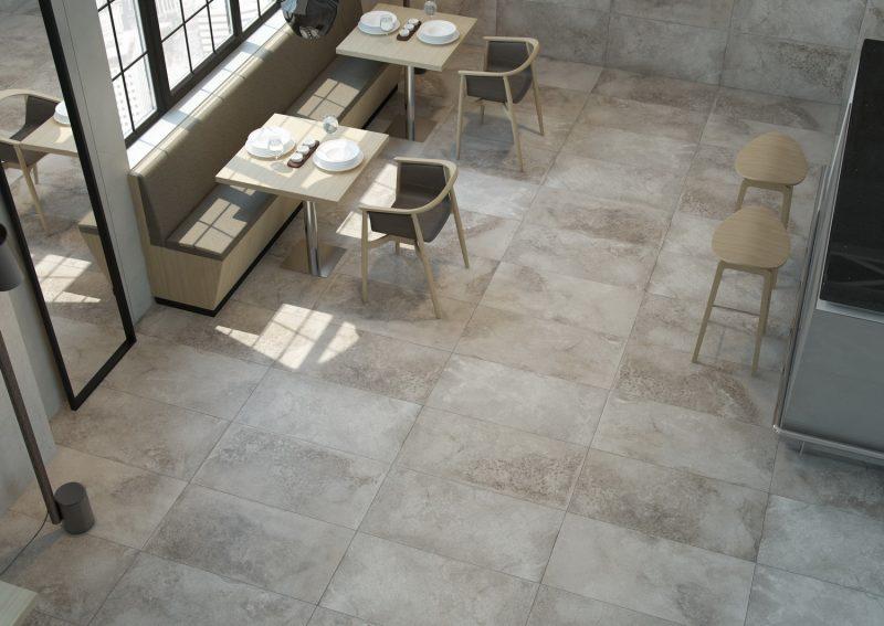 Ambientes 3D ceramicos Restaurante