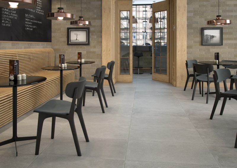 Ambientes 3D ceramicos Cafeteria