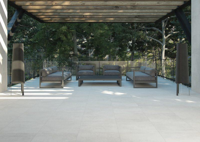 Ambiente ceramico 3d Terraza