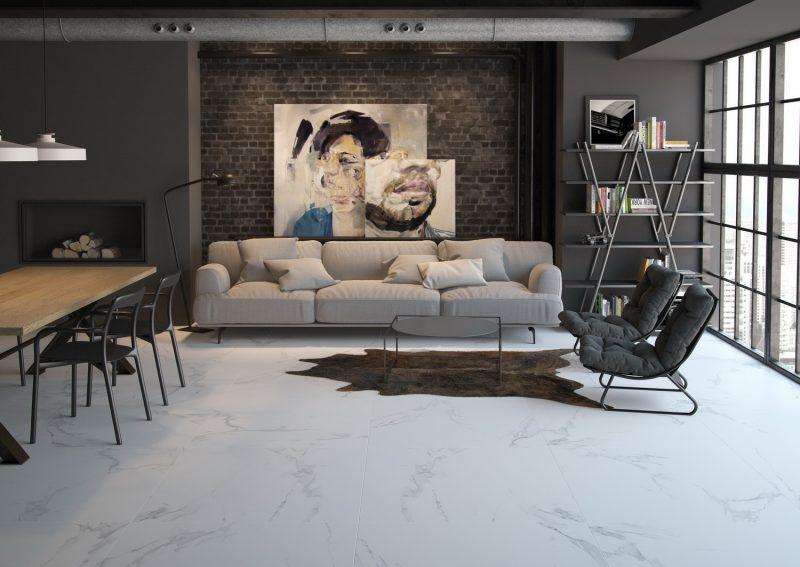Ambientes 3D ceramicos Vivienda Salon