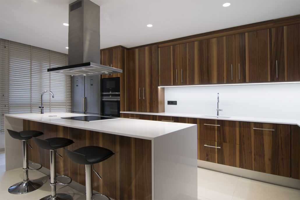 Reforma diseño cocina moderna