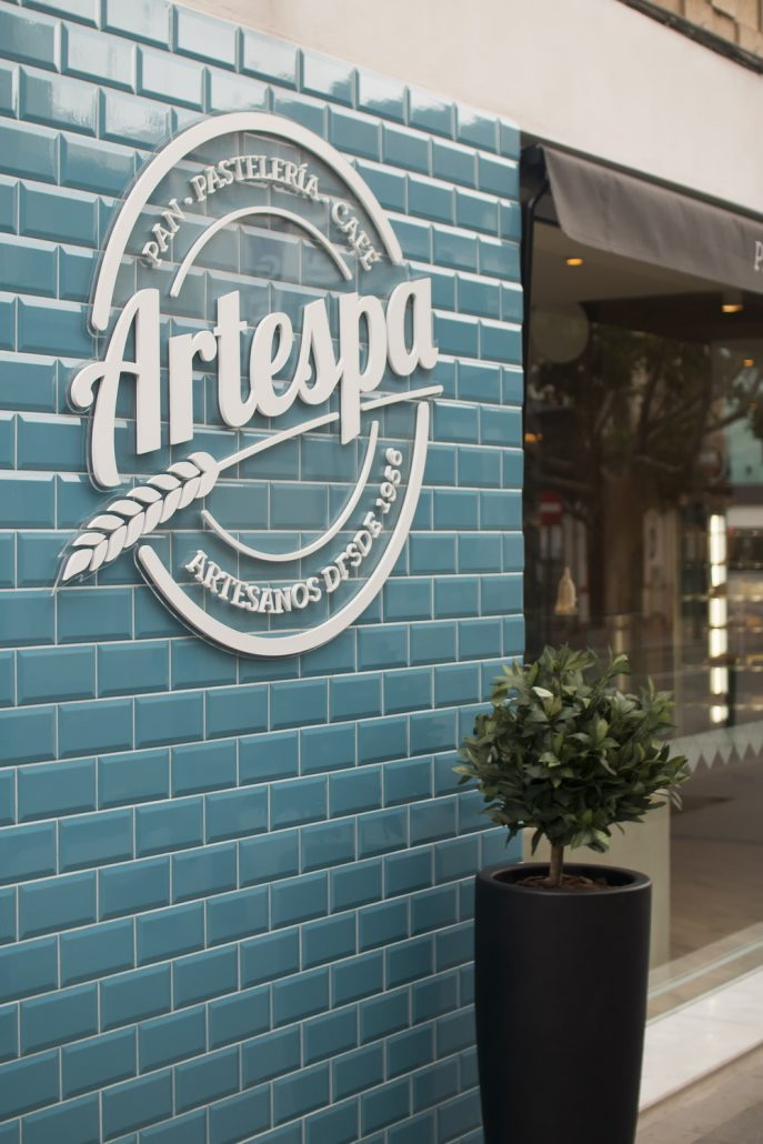 Artespa Cafetería Pastelería Castellón Vintage Interiorismo