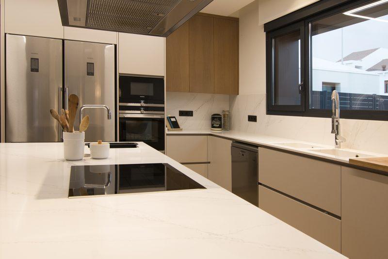 Cocina de diseño vivienda